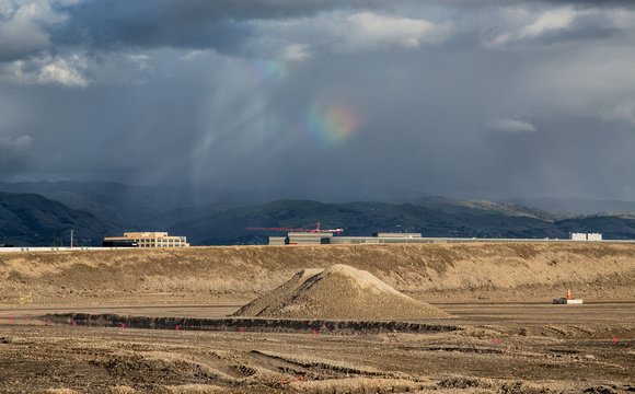 A Rainbow Over San Jose Airport (Promised Land)